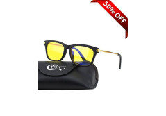 Buy this discounted product CGID CY34 Premium TR90 Frame Blue Light Blocking Glasses,Anti Glare Fatigue Blocking Headaches Eye Strain,Safety Glasses for Computer/Phone/Tablets,Flexible Unbreakable Frame,Yellow Lens on Amazon