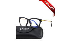 Buy this discounted product CGID CT34 Premium TR90 Frame Blue Light Blocking Glasses,Anti Glare Fatigue Blocking Headaches Eye Strain,Safety Glasses for Computer/Phone/Tablets,Flexible Unbreakable Frame,Transparnet Lens on Amazon