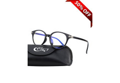 Buy this discounted product CGID CT38 Premium TR90 Frame Blue Light Blocking Glasses,Anti Glare Fatigue Blocking Headaches Eye Strain,Safety Glasses for Computer/Phone/Tablets,Circle Flexible Unbreakable Frame,Transparnet Lens on Amazon