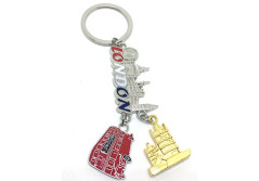 Buy this discounted product London Skyline Red Bus St Pauls Cathedral British Key Tags Mini London GB Icon Keyrings Gift Souvenir England Key Chains by souvenirz on Amazon