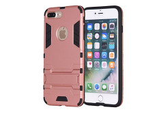 Buy this discounted product iPhone 7 Plus Case, REENUO Iron Man Kickstand Shock Absorbing Hybrid Dual Layer Armor Defender Ultra Slim Cover Shell Hard Plastic & Soft Silicone for iPhone 7 Plus (Rose Gold) on Amazon