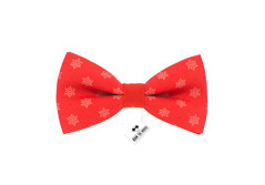 Buy this discounted product Snowflakes red bow tie christmas and new year pattern for adult and children on Amazon