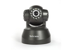 Buy this discounted product Security Camera, Baby Monitor - Sricam 720P HD Surveillance IP/Network Security Camera, Motion Detection, Night Vision, Black on Amazon