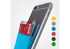 Slim Adhesive Sticky Wallet for iPhone, Galaxy, LG & More - 6 Colors Available!