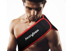 Buy this discounted product Jerrybox Cold & Hot Multifunctional Therapy (Pack of 2), Portable Medical Grade Personal Care Reusable Hot/Cold Gel Pack - With Compress Wrap for Fast Pain Relief - All Body Parts on Amazon