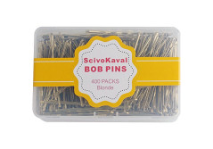Buy this discounted product ScivoKaval Bobby Pins, Blonde, 400 Count, in a Case Tub on Amazon