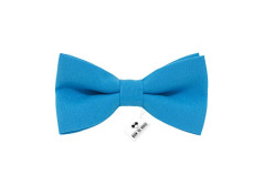 Buy this discounted product Bow Tie House Men's Pre-Tied Bow Tie in Classic Gabardine (Small, Deep blue) on Amazon