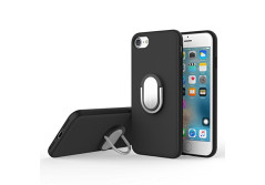 Buy this discounted product iPhone 7 Case, ROCK MOOST [Ring Holder] Kickstand Protection Case for iPhone 7 [Black] on Amazon