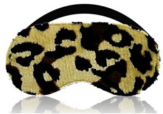 Buy this discounted product Sleep Eye Mask Lightweight & Block Light Completely - Excellent Sleeping Mask for Travel, Shift Work & Meditation (Leopard) on Amazon