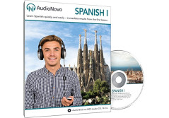 Buy this discounted product AudioNovo Spanish I - The quick and easy way to learn Spanish for Beginners (Audio program) on Amazon