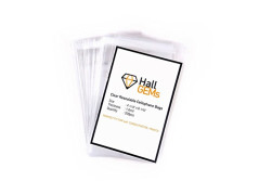 """Buy this discounted product HallGems PERFECT FIT FOR 4x6"""" POSTCARDS, 200 Pcs 4x6"""" Premium Crystal Clear Resealable Cellophane Bags Perfect for Postcards, Photos, Artcraft, Certs, Bakery, Candle, Soap, Cookie on Amazon"""