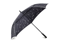 Buy this discounted product Large Golf Umbrella , COLEMETER 62 inch Extra Strong Windproof Umbrella for Family use - Auto Open - Double Canopy Vented Oversized Stick Umbrella , Cover included ( Black ) on Amazon