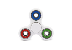 Buy this discounted product Best Tri-Color Fidget Spinner Toys for Work, Class, or Home - Great for ADHD, ADD, Anxiety, Stress Relief, boredom and gain Focus! on Amazon