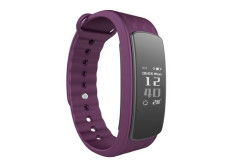 Buy this discounted product CORADO HILL Wireless Fitness Activity Tracker Waterproof Heart Rate Health Monitor Bluetooth Pedometer Calorie and Step Counter for Android and IOS (purple) on Amazon