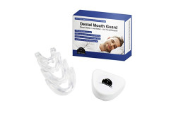 Dental Mouth Guard - Scientifically Designed To Stop Bruxism - 4 mouth guards included. Eliminates Teeth Grinding & Clenching - Mouldable And Customisable - BPA and Latex Free.