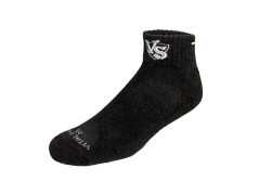 Buy this discounted product Vital Salveo- Bamboo Charcoal Running Cushion Thick Sport Athletic Socks (Dark Grey, Large)(1 Pair) on Amazon