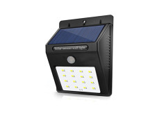Buy this discounted product Solar Charged Motion Sensor 16 LED Outdoor Waterproof Security Wall Light for Garden, Patio, Deck, Yard, Driveway, Outside Steps (1 PCS) on Amazon