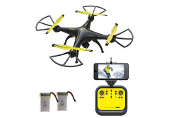 Buy this discounted product RC Quadcopter Drones with HD FPV Camera - Honor-Y Live Video Drone for Expert Pilots & Beginners ( Yellow ) on Amazon