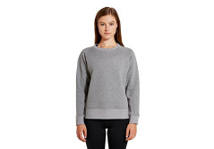 Buy this discounted product etonic Women's FLX Sweater, Grey Heather, X-Small on Amazon