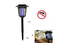 Buy this discounted product Aafly Solar Powered Outdoor Insect Killer/ Mosquito Killer Light- Bug Zapper & Garden Light Function with 2 Modes, Hang or Stake in the Ground. on Amazon