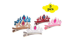 Buy this discounted product Acooe Baby princess hair clips, crown hair clips baby, princess hair clips for kids on Amazon