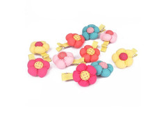 Buy this discounted product ACOOE 10pcs Sunflower Kids Hair Care Girl Elastic Hair Rope Elastic Ties on Amazon