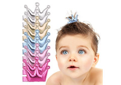 Buy this discounted product Acooe Baby Gril Hair clips - Party Favor Baby Hair Accessories Toys 10 Packs - 5 Colors on Amazon