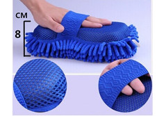 Buy this discounted product Car Wash Microfiber Mitt 3 PACK - Detailing Kit Ultra Water Absorbent Car wash Sponge,Extremely Durable Car wash Towel on Amazon