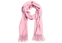 """Buy this discounted product o.Keer Unisex Super Soft 23""""x 82"""" Solid Color Cashmere Winter Scarf Shawl Wrap (Pink) on Amazon"""