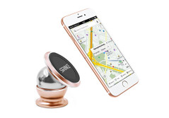 Buy this discounted product Phone Support Magnetic for Home/ Car/ Bedroom/Bathroom/Office, Suit for All Cell Phones(Gold) on Amazon