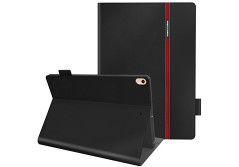 Buy this discounted product iPad Pro 10.5 Case, AUAUA Smart Case Cover PU Leather Case with Auto Sleep/Wake + Premium Light Weight Stand Folio Protector For New Apple iPad Pro 10.5 inch 2017 Tablet (New iPad Pro 10.5, Black) on Amazon