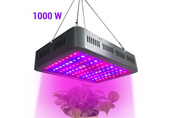 Buy this discounted product LED Grow Light 1000W Full Spectrum Double Clip Planting Bulbs Growing Lamps for Indoor Plants Hydroponics Greenhouse Gardening Vegetable and Flower on Amazon