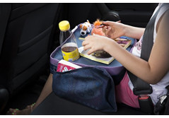 Buy this discounted product SUNDIAL Kids Travel Tray Extra Sturdy Easy Wipe Surface Lap Car Stroller Airplane Play and Eat Organiser on Amazon
