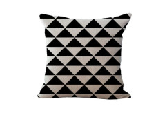 Buy this discounted product Geometric Decorative Throw Pillowcases, ZONK Square Cushion Covers Sofa Office Car Patio Furniture Decor, 18x18 inch, Style 10 on Amazon