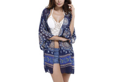 Buy this discounted product GAXmi Bikini Cover Up Women's Summer Stylish Chiffon Beach Swimwear Cover Up on Amazon