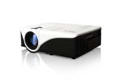 Buy this discounted product iDGLAX iDG-787W LCD LED Video Multimedia Mini Portable Projector with Free HDMI cable for Home Theater Movie Nights and Video Games (HD Ready) on Amazon