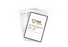 "Buy this discounted product HallGems PERFECT FIT FOR 4x6"" POSTCARDS, 200 Pcs 4x6"" Premium Crystal Clear Resealable Cellophane Bags Perfect for Postcards, Photos, Artcraft, Certs, Bakery, Candle, Soap, Cookie on Amazon"
