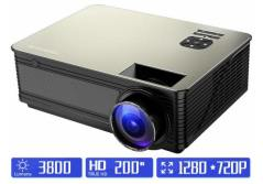 CPX-319 Android4.4 Wireless Portable mini LED projector 1080P 1500 lumens Bluetooth WIFI TV Beame