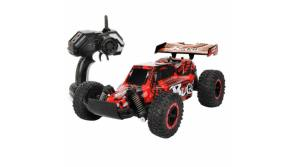 Buy this discounted product ALLCACA Electric RC Cars - 2.4Ghz Off-Road Rock Crawler 1/16 Scale High Speed Remote Control Truck Kids (Red) on Amazon