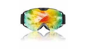 Buy this discounted product Ski Snowboard Goggles, Anti-frog Skiing Goggles with UV Protection, Anti-Glare,Wind Resistance Double Lens OTG Ski Goggles for Men, Women, Youth, Eye Wearer. on Amazon