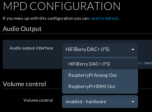 MPC config