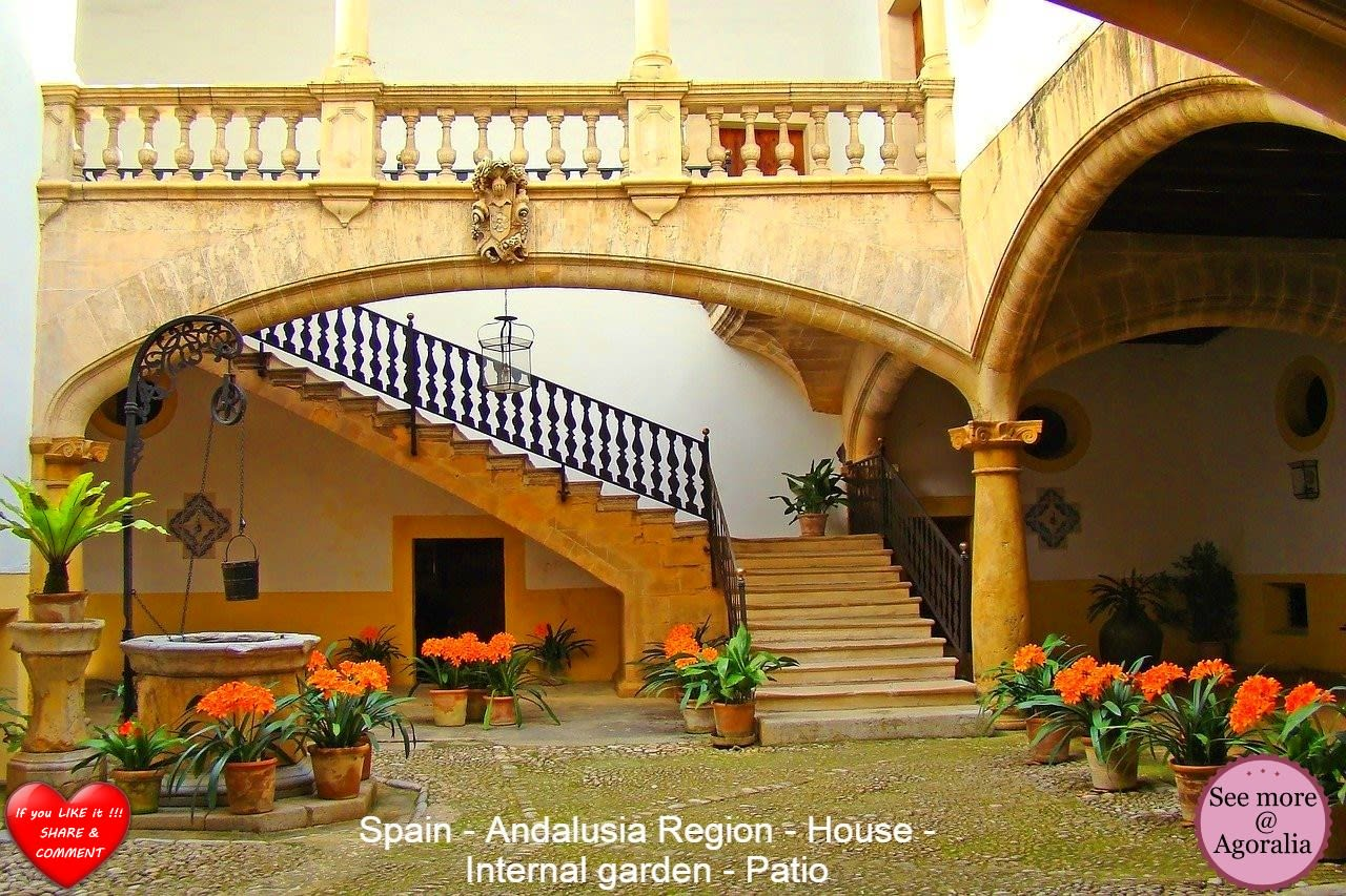 Spain - Andalusia Region - House - Internal garden - Patio