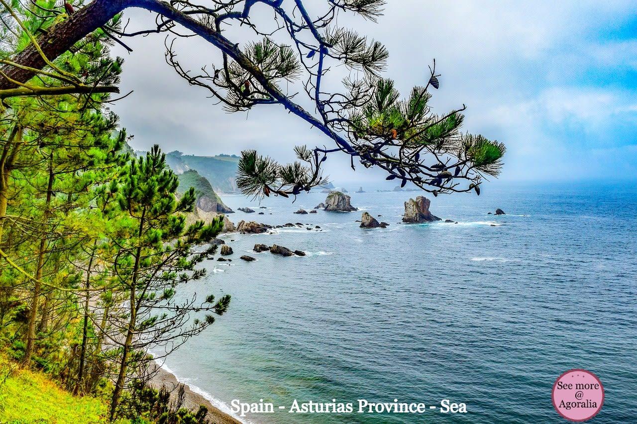 Spain-Asturias-Province-Sea