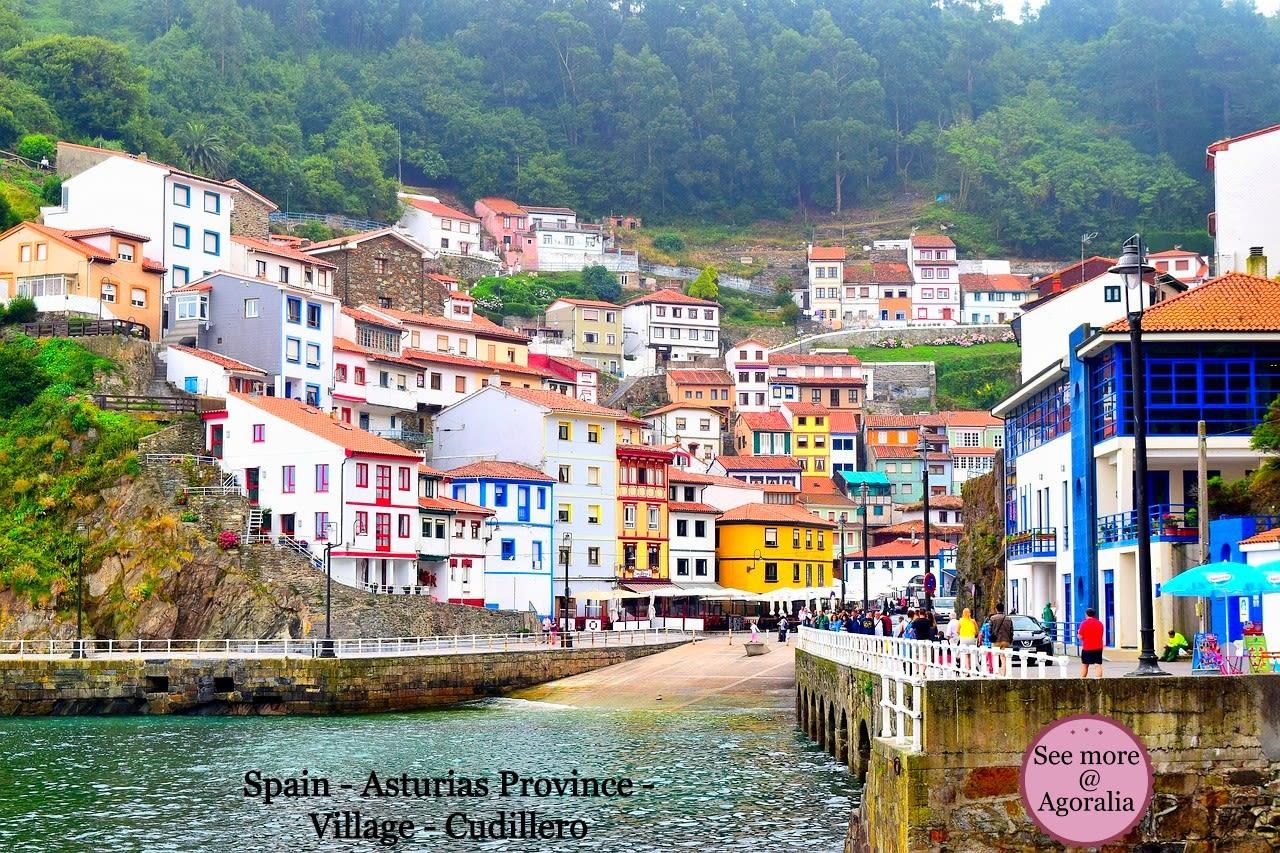 Spain-Asturias-Province-Village-Cudillero