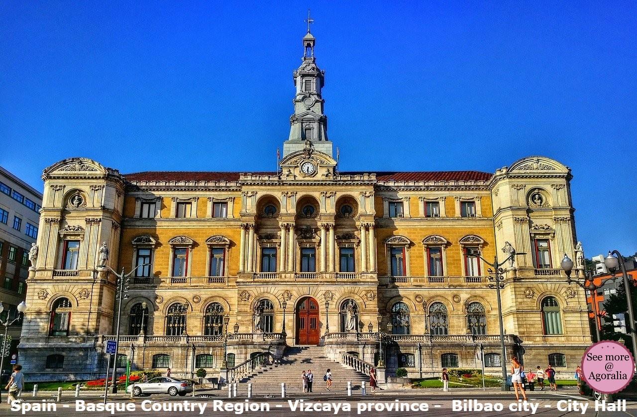 Spain - Basque Country Region - Vizcaya province - Bilbao city - City Hall