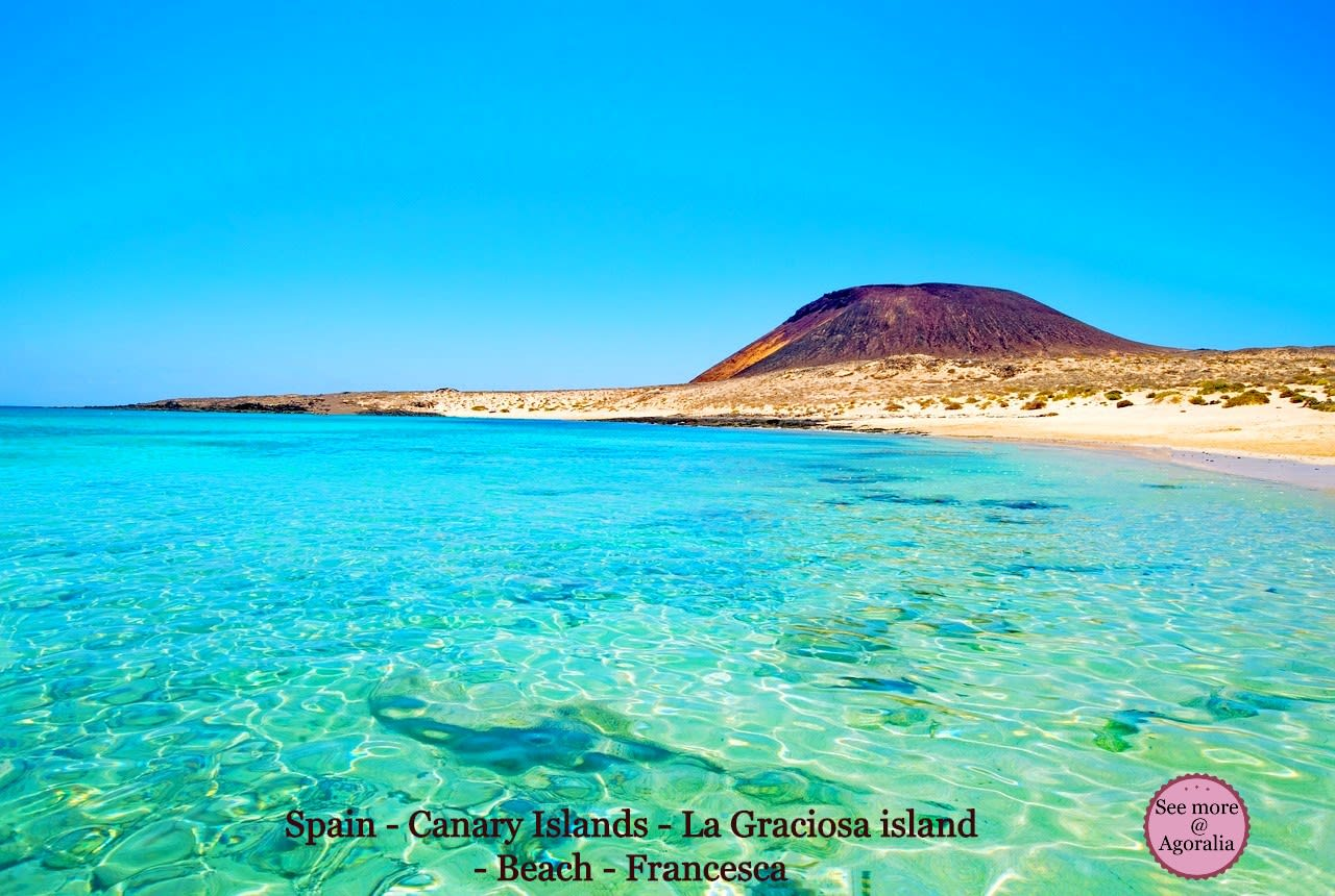 Spain - Canary Islands - La Graciosa island - Beach - Francesca