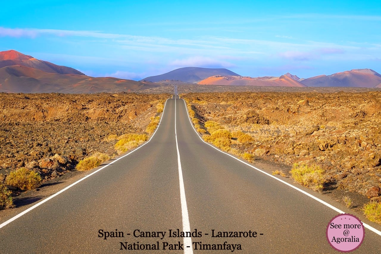 Spain - Canary Islands - Lanzarote - National Park - Timanfaya