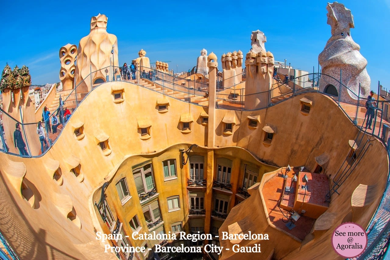 Spain - Catalonia Region - Barcelona Province - Barcelona City - Gaudi