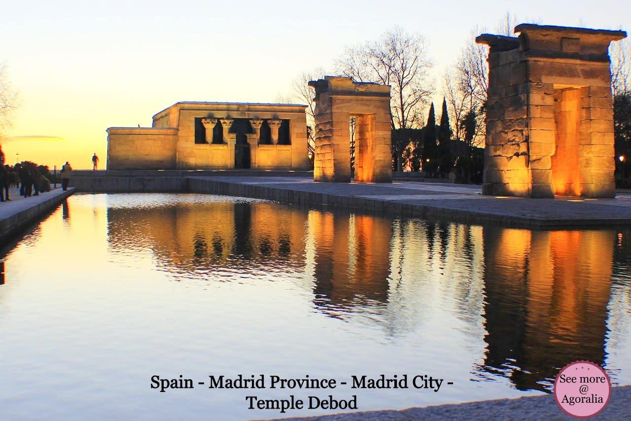 Spain-Madrid-Province-Madrid-City-Temple-Debod