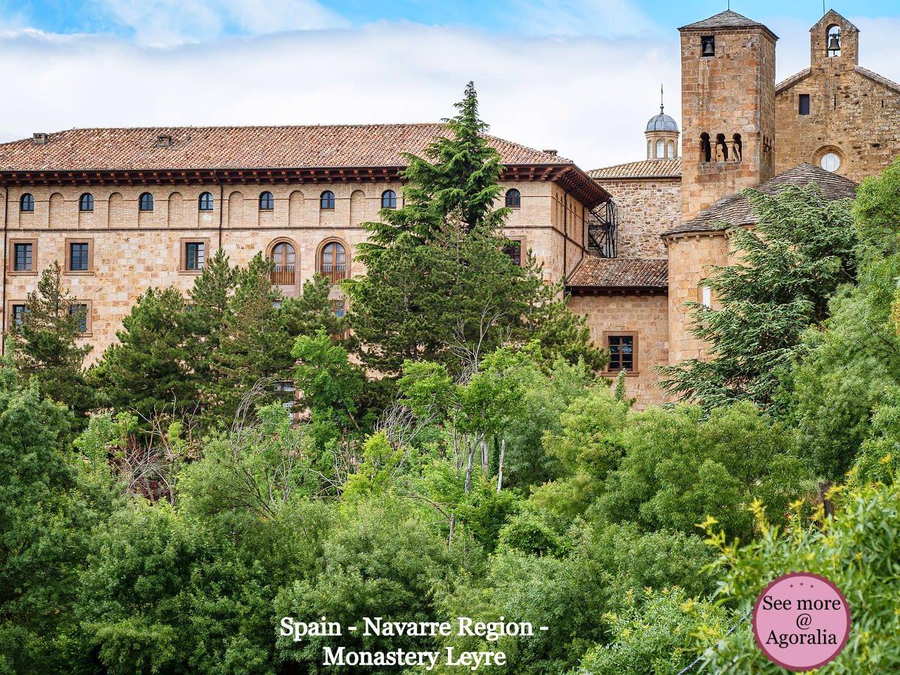 Spain-Navarre-Region-Monastery-Leyre
